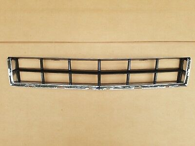 fits 2010-2012 CADILLAC SRX Lower Grille on Front Bumper Black/Chrome NEW
