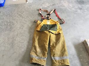 1990's firefighter fire resistant pants
