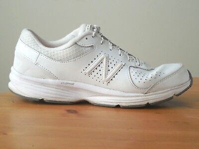 7e982df310be New Balance 411 Womens 11    Mens 9 Walking Shoes White Leather WW411WT NEW
