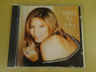 CD / BARBRA STREISAND - BACK TO BROADWAY