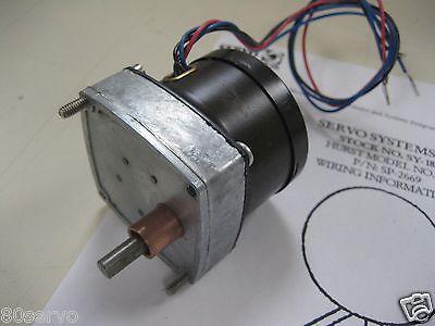 Hurst Synchronous Gearhead Geared Motor 115vac