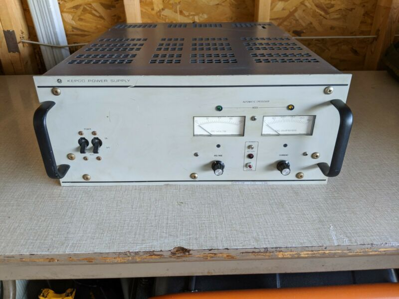 Kepco Variable DC Power Supply ATE 15-50 15V 50A 1000W