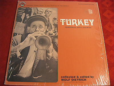 LP TURKEY Traditional Song and Music > LYRICHOR US 1977 RARITÄT