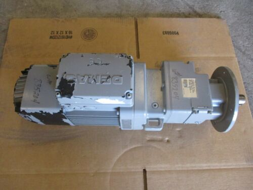 DEMAG CRANES&EQUIPTMENT MOTOR&GEARBOX TYPE-ZBA71AB007 RPM-1685 60HZ #86900G NEW