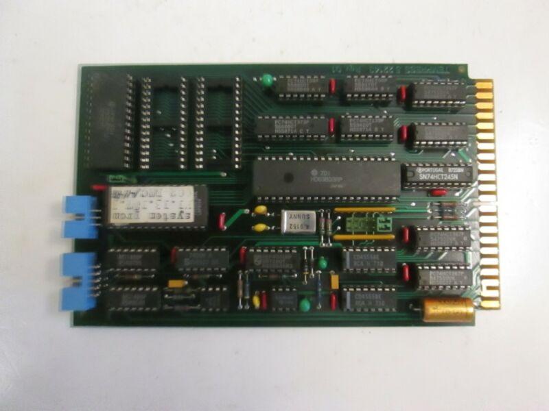 Tempress Processor Card DTC, 7.01.128, PCB, Used