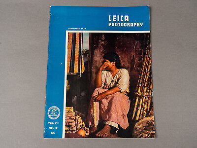 Leica Photography Magazine September 1939 WWII Suspension Issue