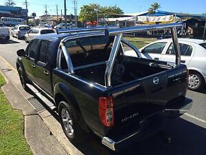 BRAND NEW - Tradesman / Ladder rack set - Nissan D40 Navara Mermaid Beach Gold Coast City Preview