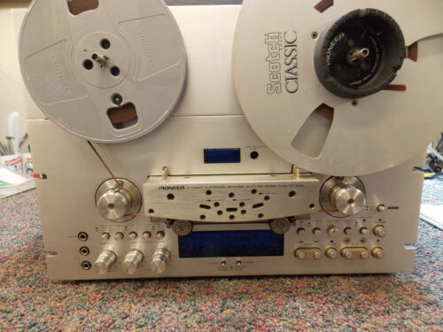 PIONEER RT-909 Reel to Reel Tape Deck serviced and re-certified.