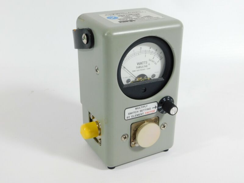 Bird Thruline 4410A RF Power Watt Meter Wattmeter (excellent condition)