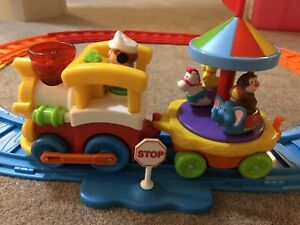Toddler train set