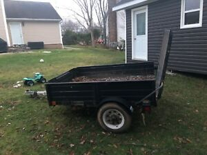 4 by 6 Utility Trailer
