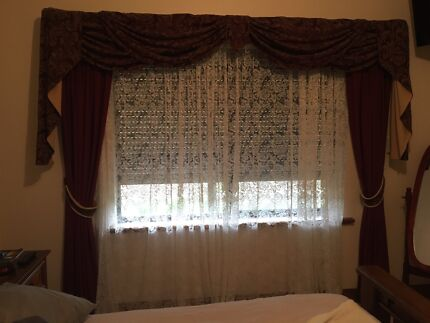 custom made curtains lace and fabric 6 rooms