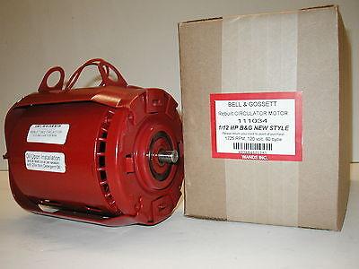 Bell Gossett 112 Hp Circulator Motor Series 100 111034 And 106189