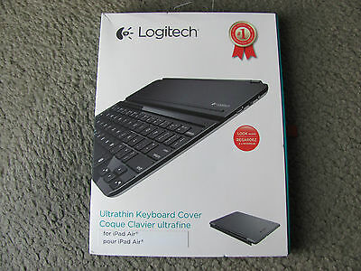 Brand New Logitech Ultrathin Keyboard Cover for iPad Air, Space Grey 920-005510