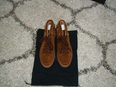 Louis Leeman Soft Suede Leather Sneakers BROWN Size US 11/EU 44