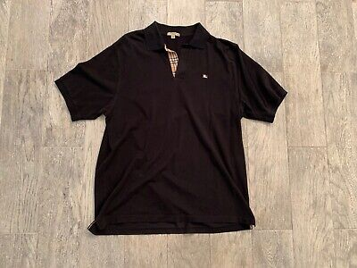 BURBERRY MENS POLO SHIRT SIZE XL USED MINT CONDITION