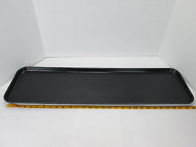 Cambro Market Tray 830mt 30 X 8 Food Meat Pastries Drip Tray Black Serving Gs