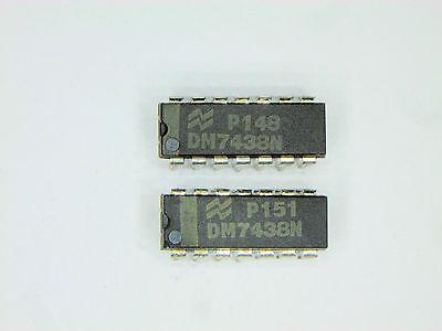 Dm7438n Original National Semiconductor 14p Dip Ttl Ic 2 Pcs