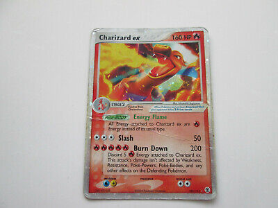 Pokemon TCG Charizard EX 105/112 HOLO Fire Red Leaf Green