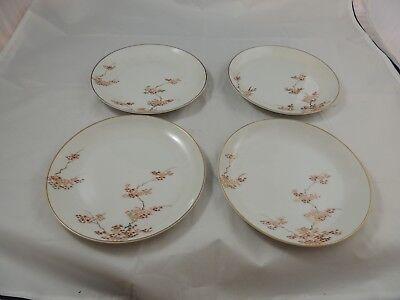 Ex Cond Made in Japan Fukagawa Arita Maple No.905 Lot of 4 Fruit Bowl