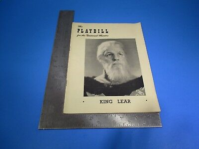 The Playbill December 25, 1950 National Theatre Louis Calhern Great Ads S6005