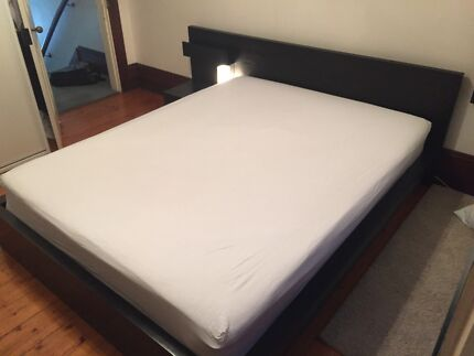 Ikea MALM bed Woollahra Eastern Suburbs Preview
