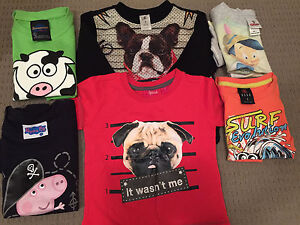 Size 1-2 bundle of tshirts and sweater Werrington Penrith Area Preview