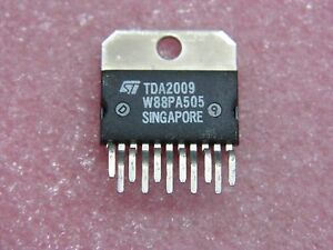 ci TDA 2009 - ic TDA2009 ~ 10W+10W stereo amplifier circuit