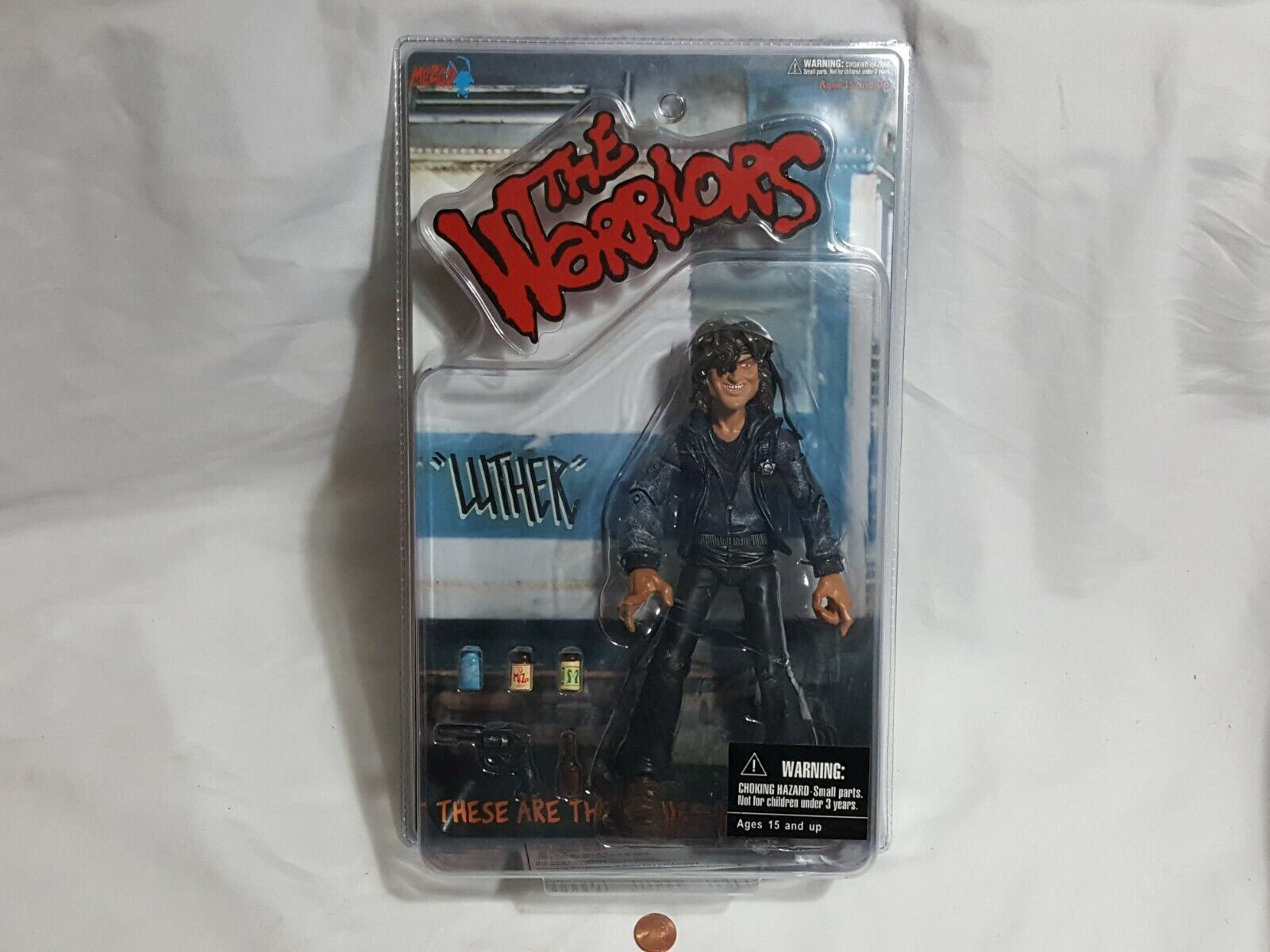 NEW The Warriors Luther Mezco Action Figure SEALED toy warri