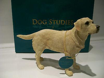 Yellow Labrador Retriever Ornament Figurine Figure Dog Gift