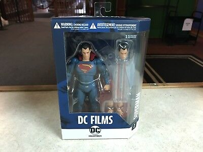 2016 DC Direct Batman vs Superman DC Films Premium 6'' Superman Figure MOC