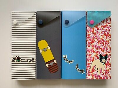 Slider Pencil Case Brand New Four different Colors