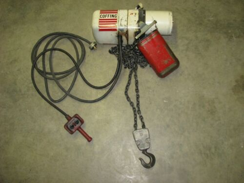 COFFING Electric Chain Fall Hoist 2 TON 3-phase JF2