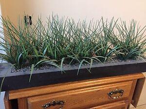 Fake grass in box