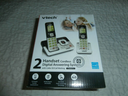 VTech CS6829-2 Phone VTech Cordless Answering System NEW