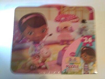 Doc Mcstuffins Lunch Box (Disney's - Doc McStuffins - Metal Lunch Box & Puzzle -)