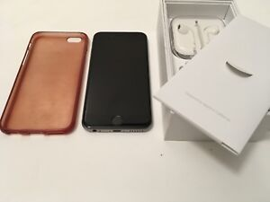 Iphone 6S - 64GB space grey w/ case 10/10 condition. MINT