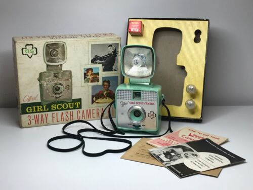 Imperial Camera 127 Flash Camera - Green Girl Scout Camera with Green Flash
