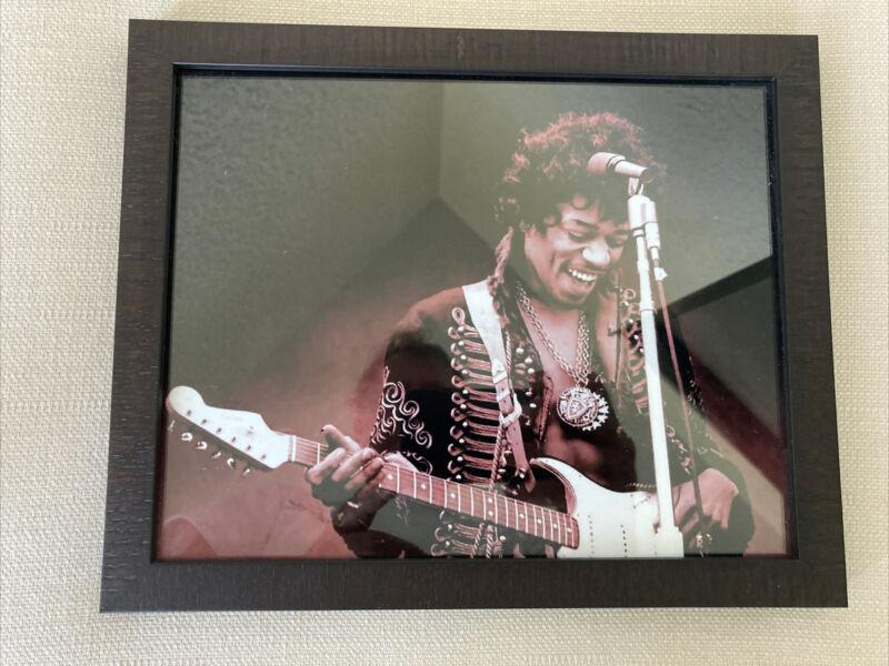 Jimi Hendrix Framed Picture