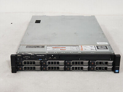 "Dell Poweredge R720 3.5"" 2x E5-2690 2.9ghz 16-Cores 64gb H710 8x Trays 2x750w"