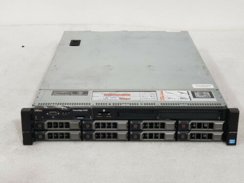 "Dell Poweredge R720 3.5"" 2x E5-2640 2.5ghz 12-Cores  64gb  H710  24TB  2x 750w"