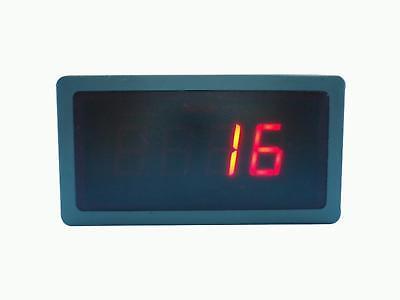 Digital Red Led Temperature Meter For K Type Thermocouple Egt Sensors 12v
