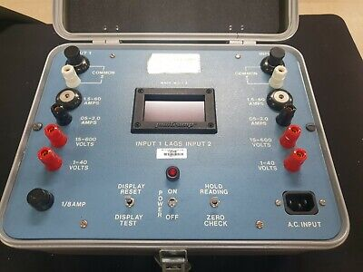 Avo Multi-amp Pam-275r 96807-0011 Phase Meter
