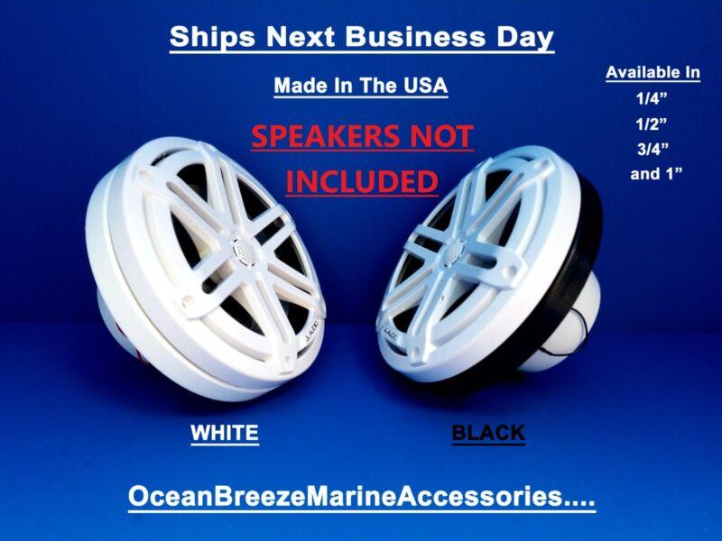 """JL Audio 6.5"""" Marine M3 Series (2) Boat Speaker Spacer Rings King Starboard"""