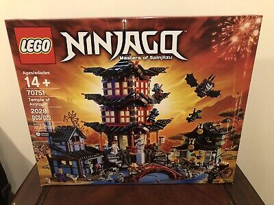LEGO Ninjago Temple of Airjitzu (70751) - Brand New & Sealed