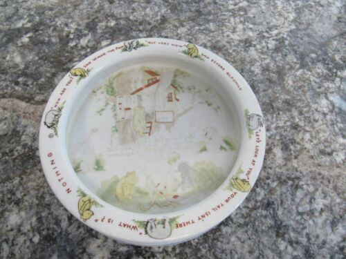 Vintage 1930's Winnie-The-Pooh Baby Childs Plate/Bowl Stephen Slesinger Germany