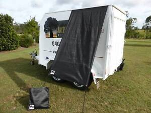 Caravan Fridge / Window Shade ESSENTIALS BLACK Childers Bundaberg Surrounds Preview