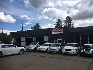 Fully Equipped Car lot in Prime Location for rent