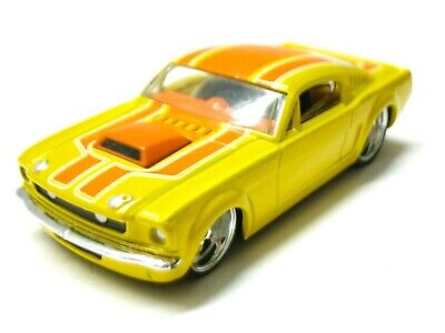 Hot Wheels G-Machines Racing Yellow/Orange GT 1966 Ford Mustang 2047 EA 1:50
