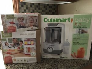 Baby Cuisinart & Fresh Squeezed Systems